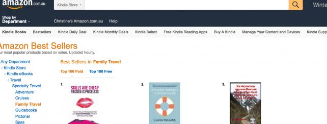 Amazon Best Seller Proof…